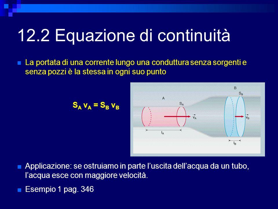 12.2 Equazione di continuità