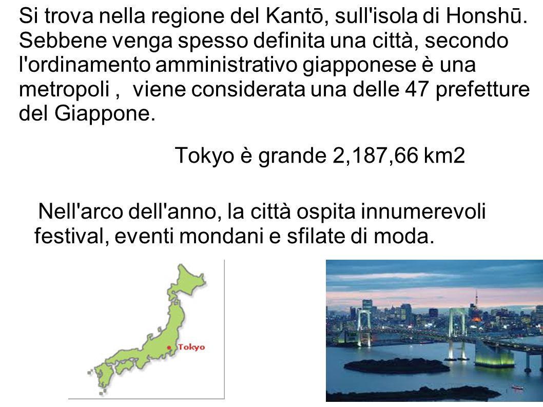 Si trova nella regione del Kantō, sull isola di Honshū