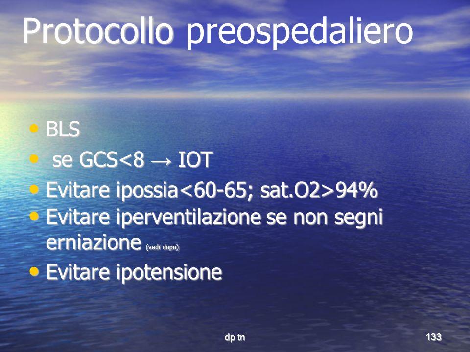 Protocollo preospedaliero