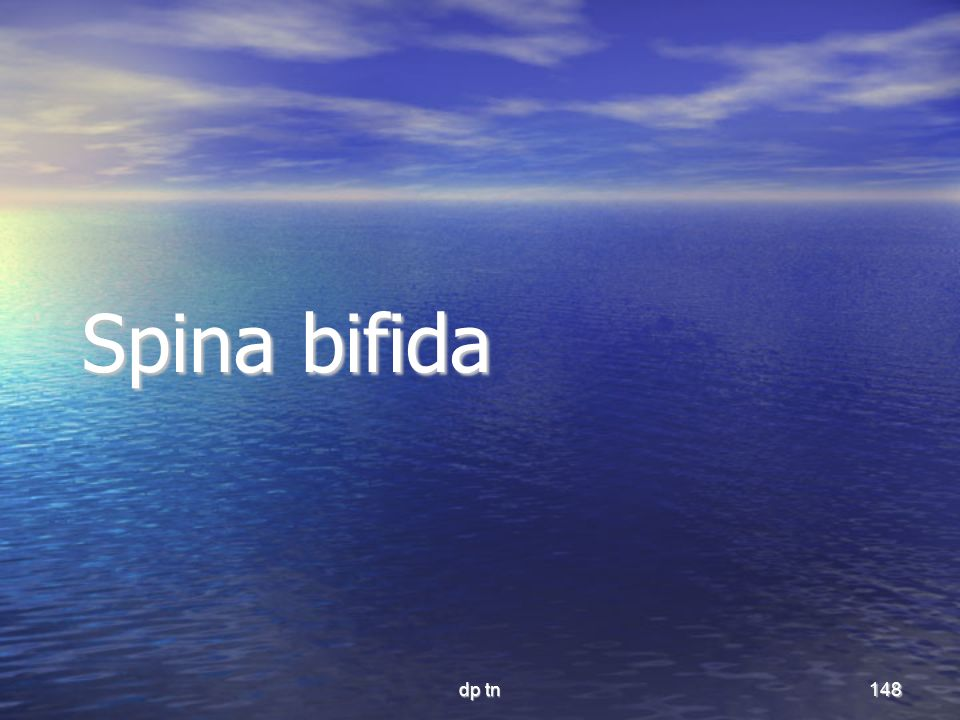 Spina bifida dp tn