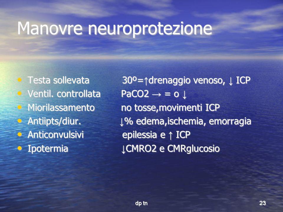 Manovre neuroprotezione