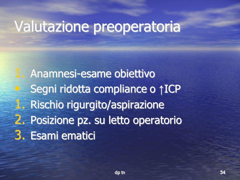 Valutazione preoperatoria