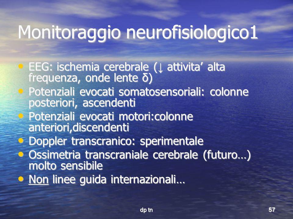 Monitoraggio neurofisiologico1