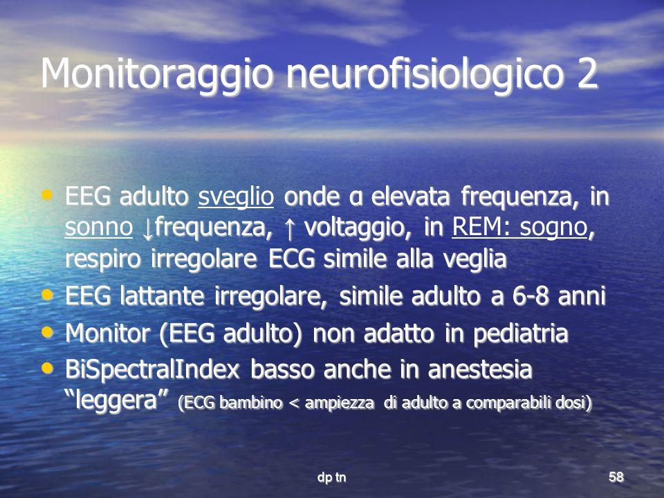Monitoraggio neurofisiologico 2