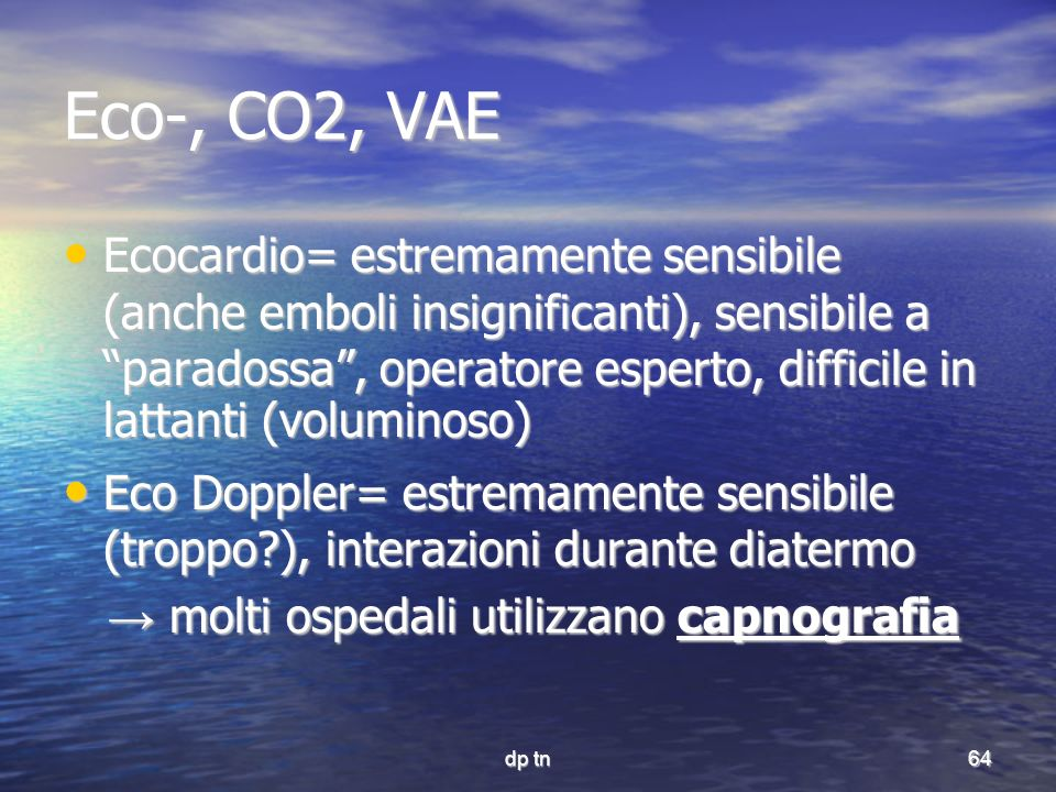 Eco-, CO2, VAE