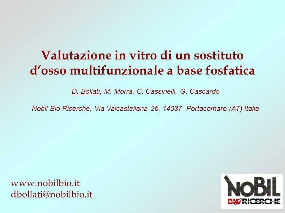 D. Bollati, M. Morra, C. Cassinelli, G. Cascardo