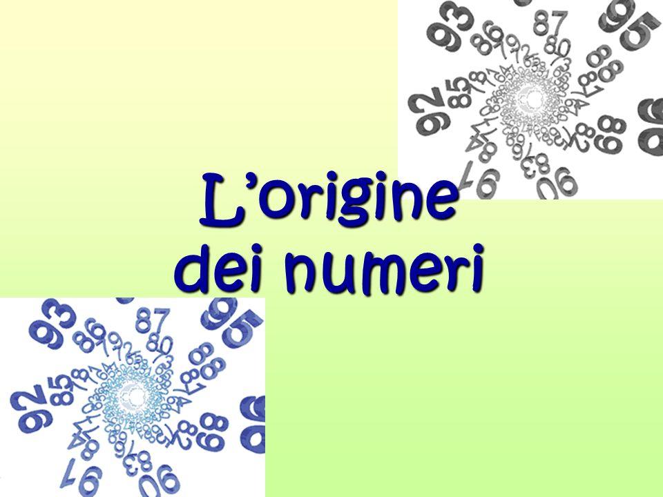 L'origine dei numeri