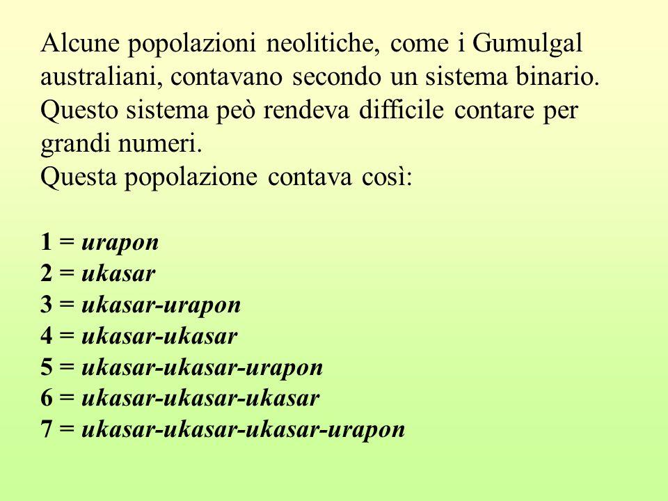 Alcune popolazioni neolitiche, come i Gumulgal