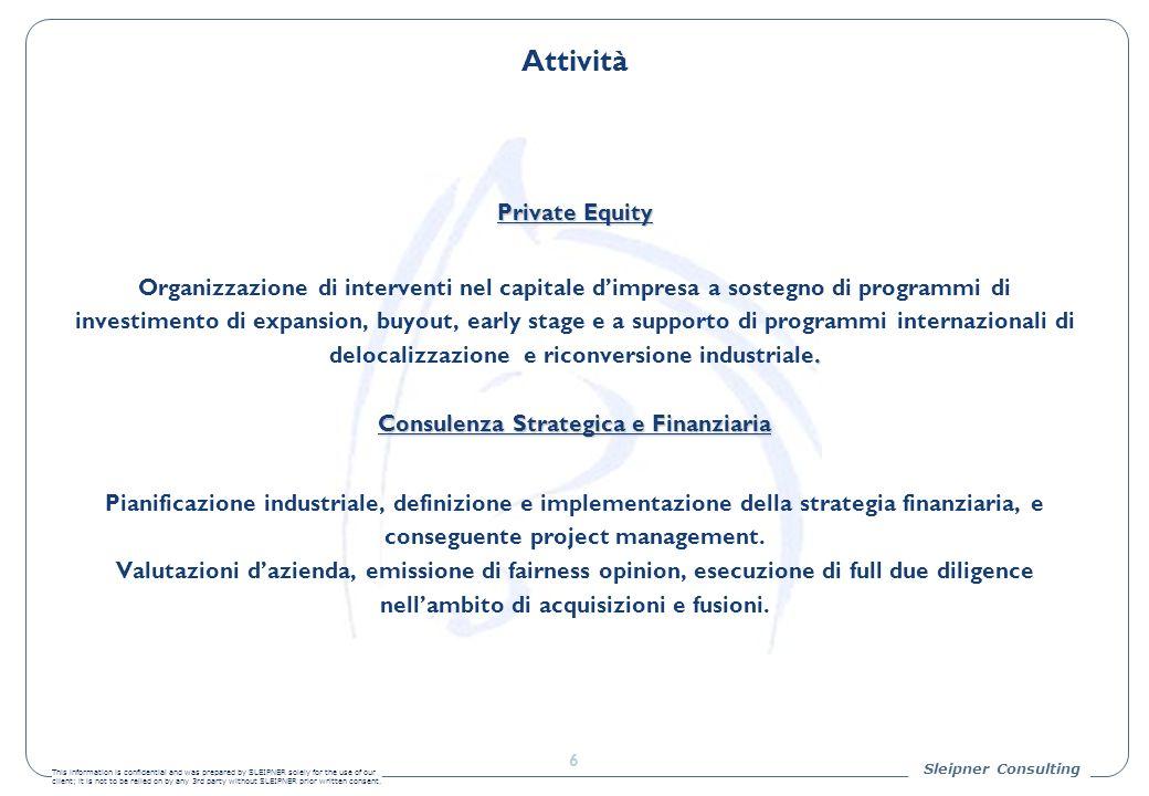 Consulenza Strategica e Finanziaria