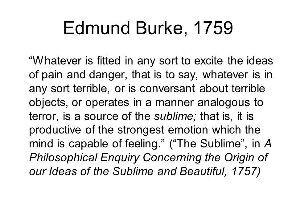 Edmund Burke, 1759
