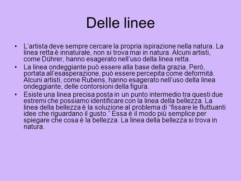 Delle linee