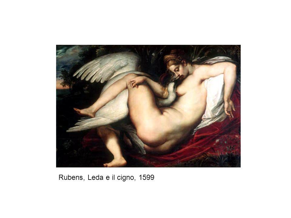 Rubens, Leda e il cigno, 1599