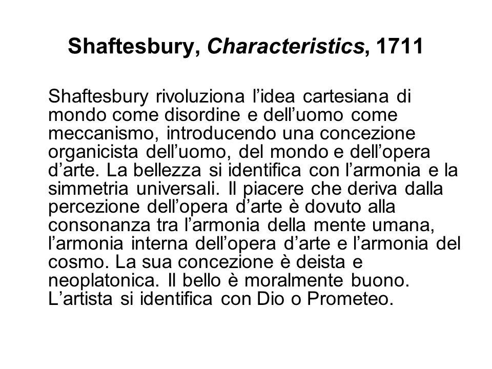 Shaftesbury, Characteristics, 1711