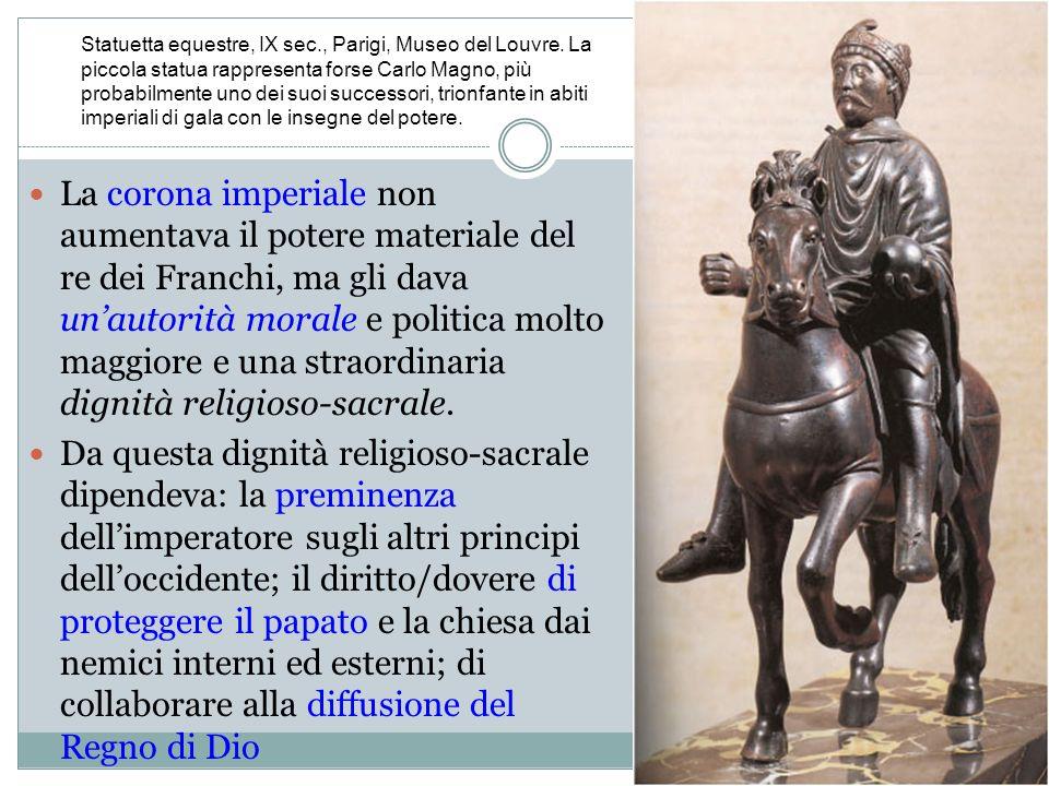 Statuetta equestre, IX sec. , Parigi, Museo del Louvre