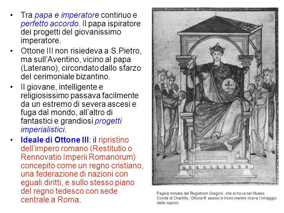 Tra papa e imperatore continuo e perfetto accordo