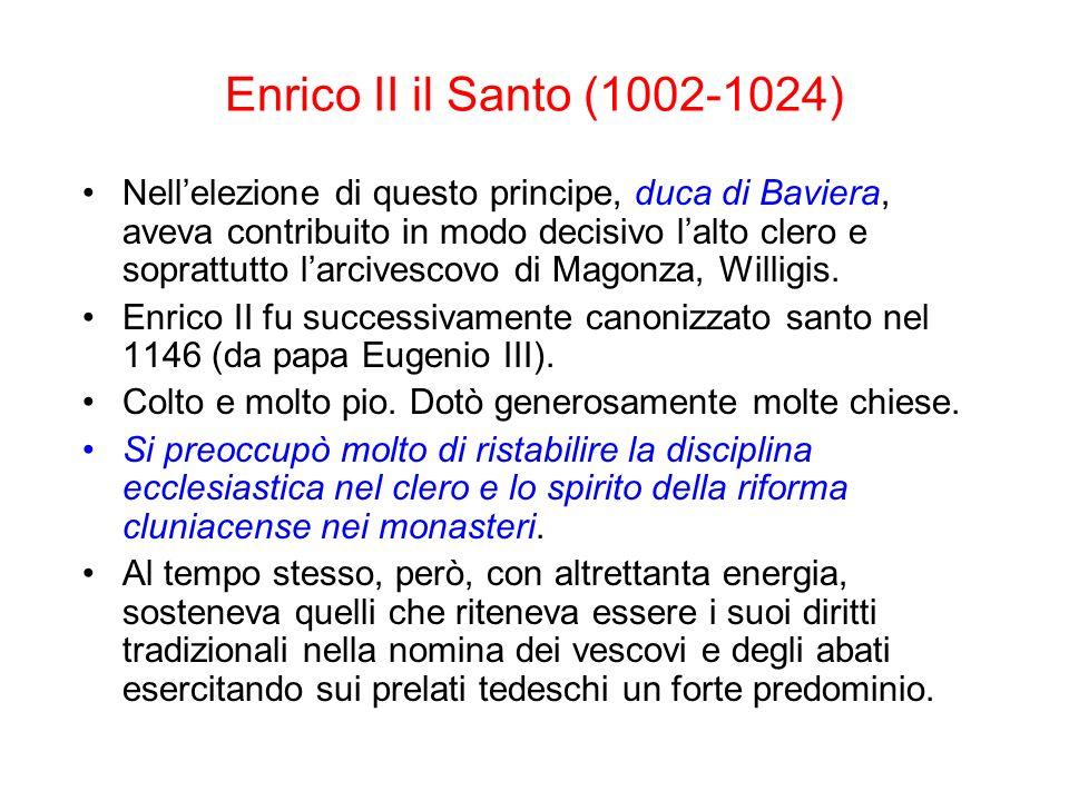 Enrico II il Santo (1002-1024)