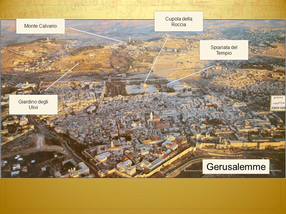 Gerusalemme Cupola della Roccia Monte Calvario Spianata del Tempio
