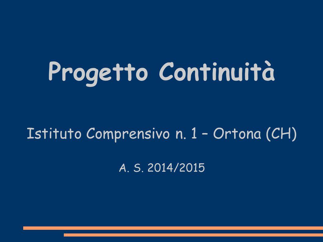 Istituto Comprensivo n. 1 – Ortona (CH)