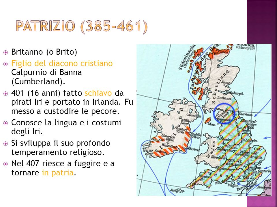 Patrizio (385-461) Britanno (o Brito)