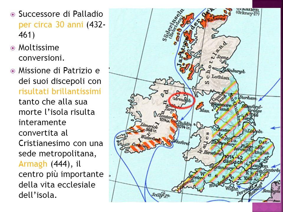Successore di Palladio per circa 30 anni (432- 461)