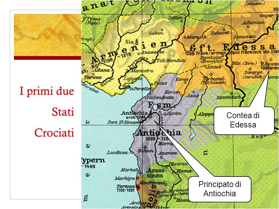 I primi due Stati Crociati