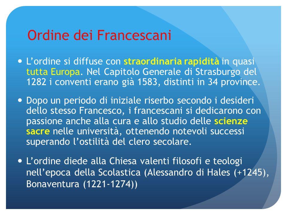 Ordine dei Francescani