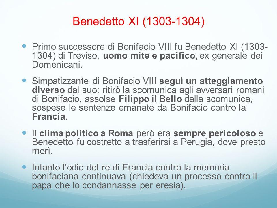 Benedetto XI (1303-1304)