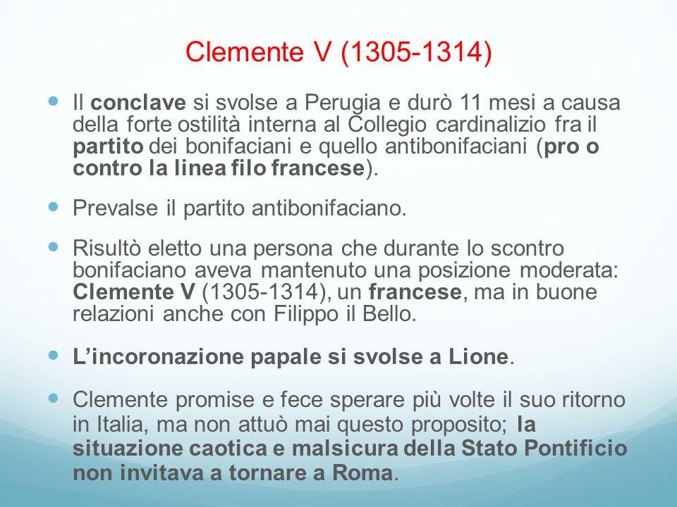 Clemente V (1305-1314)
