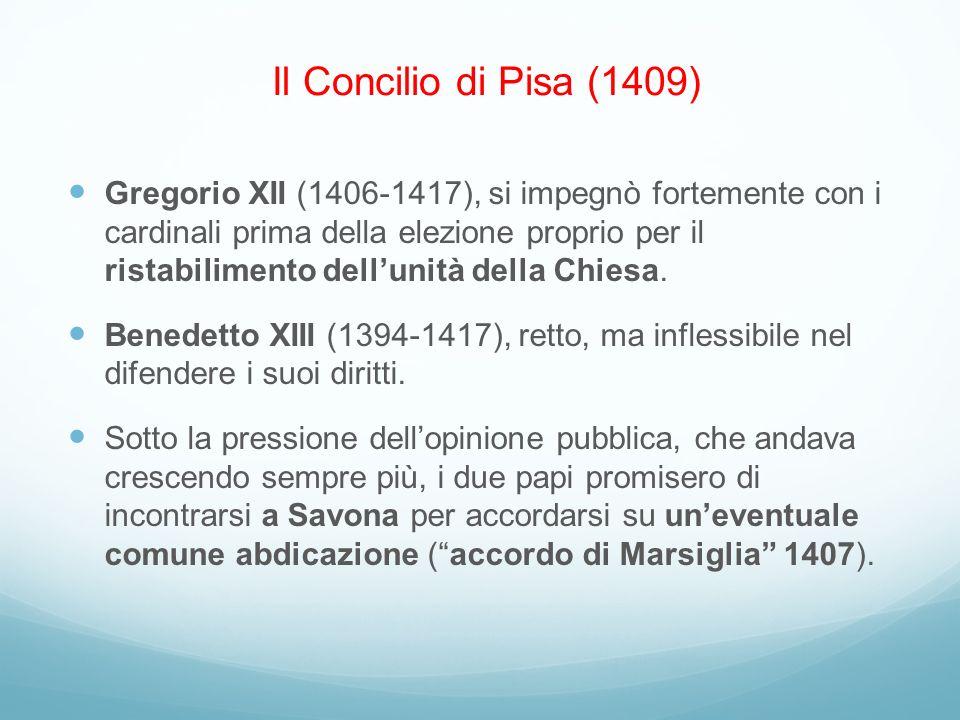 Il Concilio di Pisa (1409)