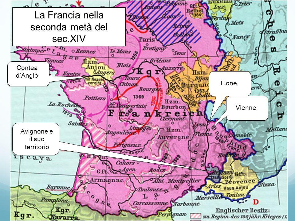La Francia nella seconda metà del sec.XIV