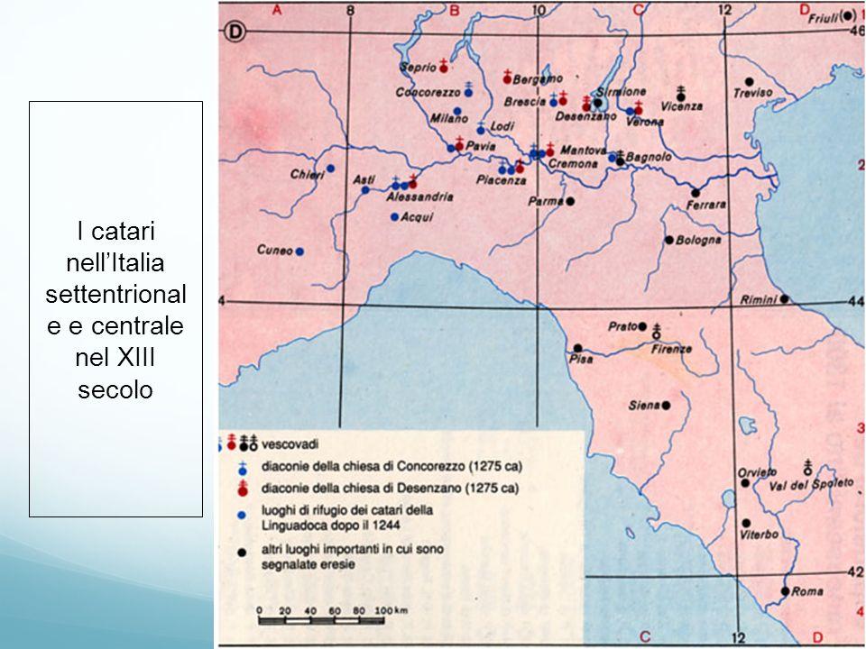 I catari nell'Italia settentrionale e centrale nel XIII secolo