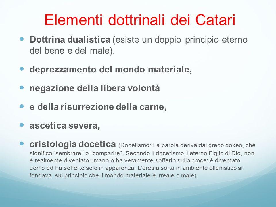 Elementi dottrinali dei Catari