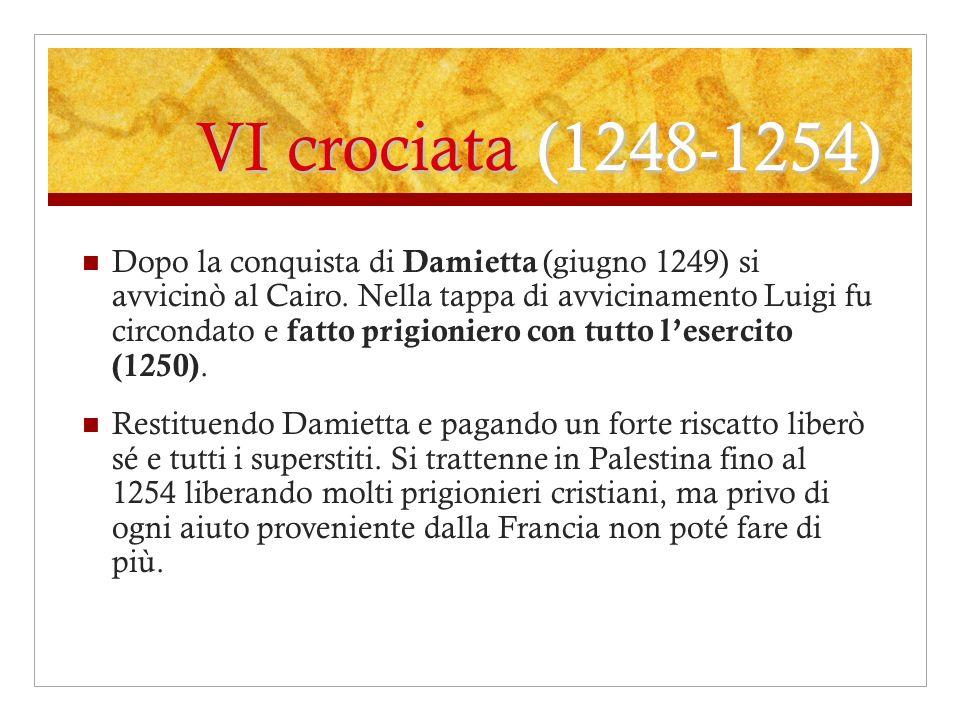 VI crociata (1248-1254)