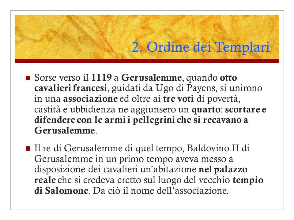 2. Ordine dei Templari