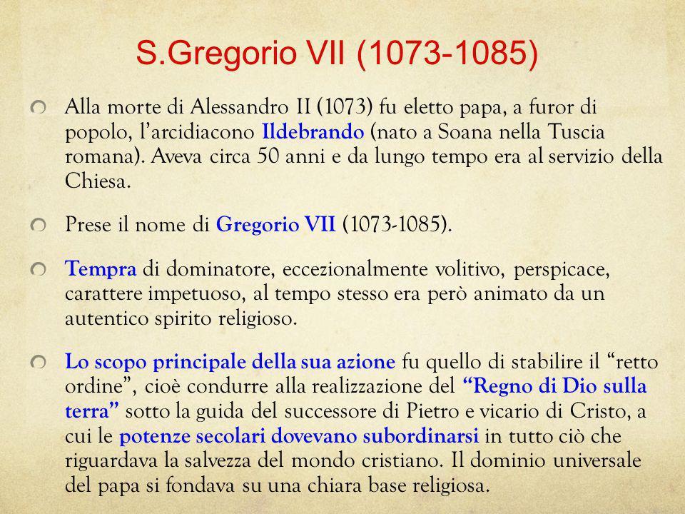 S.Gregorio VII (1073-1085)