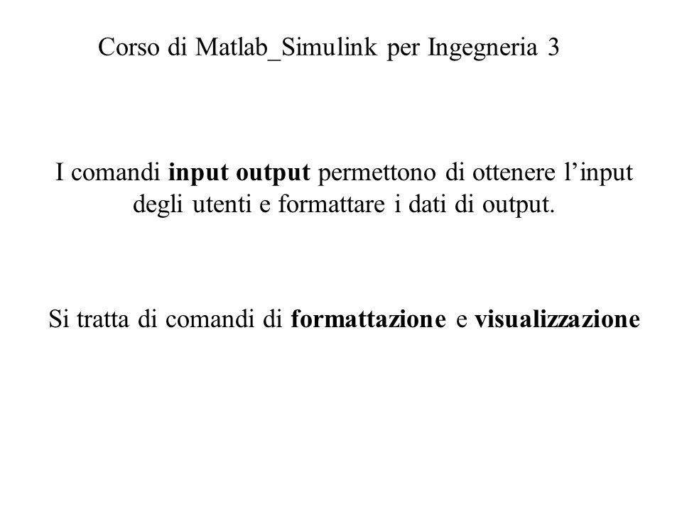 Corso di Matlab_Simulink per Ingegneria 3