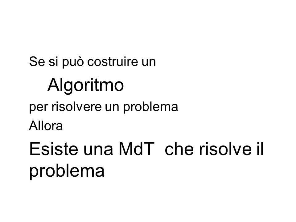 Esiste una MdT che risolve il problema