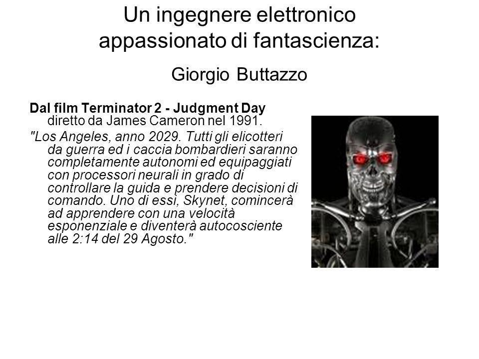Un ingegnere elettronico appassionato di fantascienza: Giorgio Buttazzo