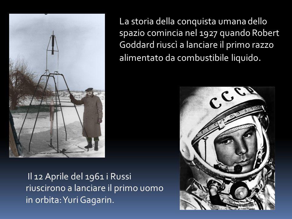 Il 12 Aprile del 1961 i Russi riuscirono a lanciare il primo uomo in
