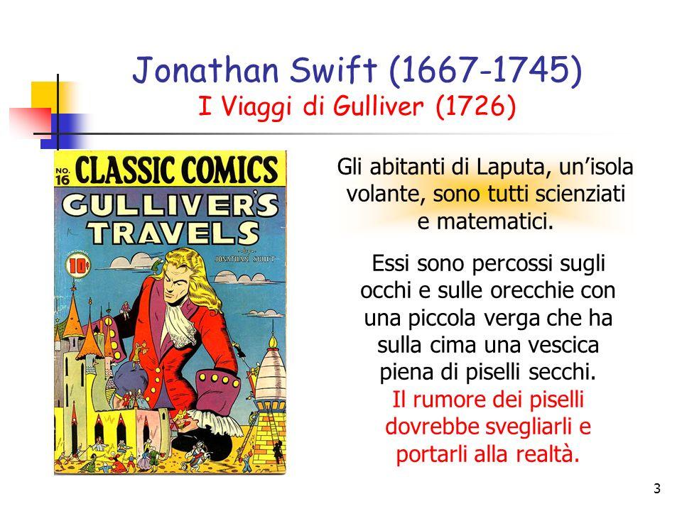 Jonathan Swift (1667-1745) I Viaggi di Gulliver (1726)