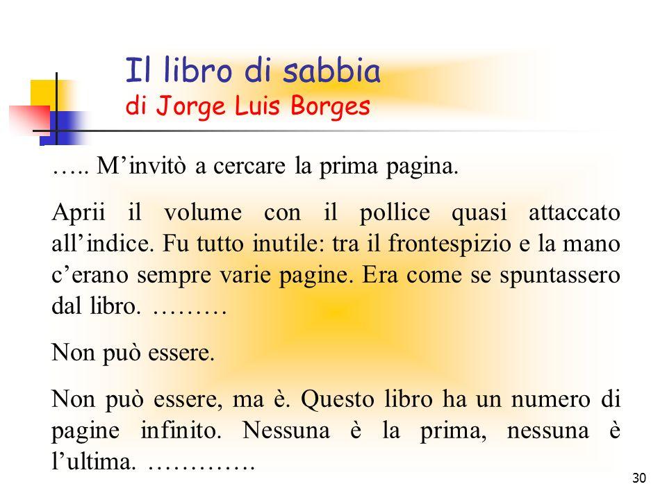 Il libro di sabbia di Jorge Luis Borges