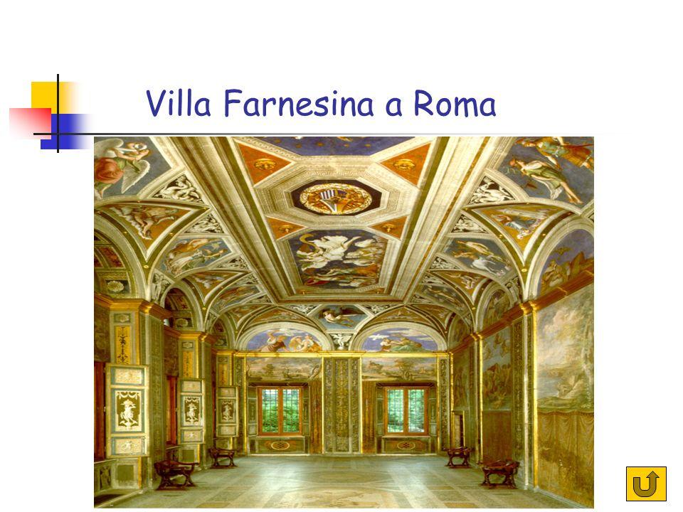 Villa Farnesina a Roma