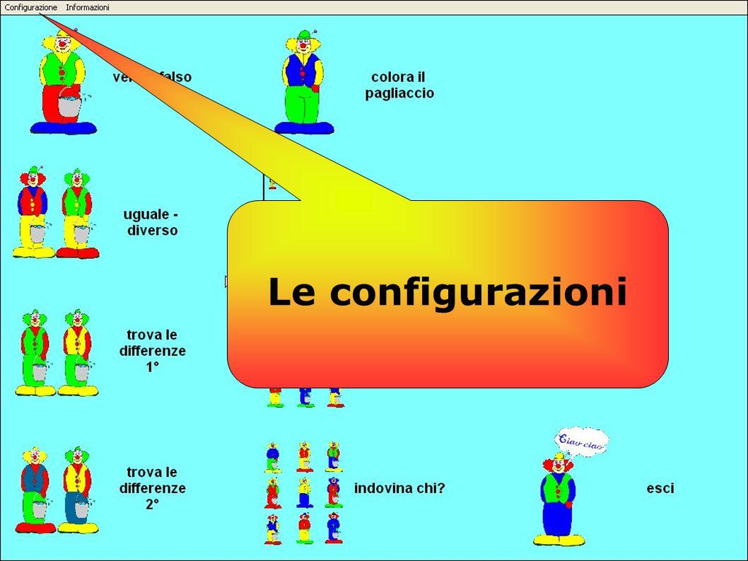 Le configurazioni