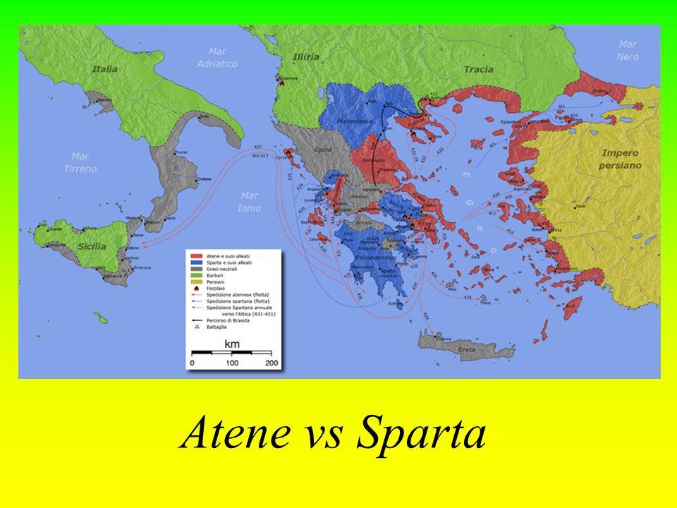 Atene vs Sparta