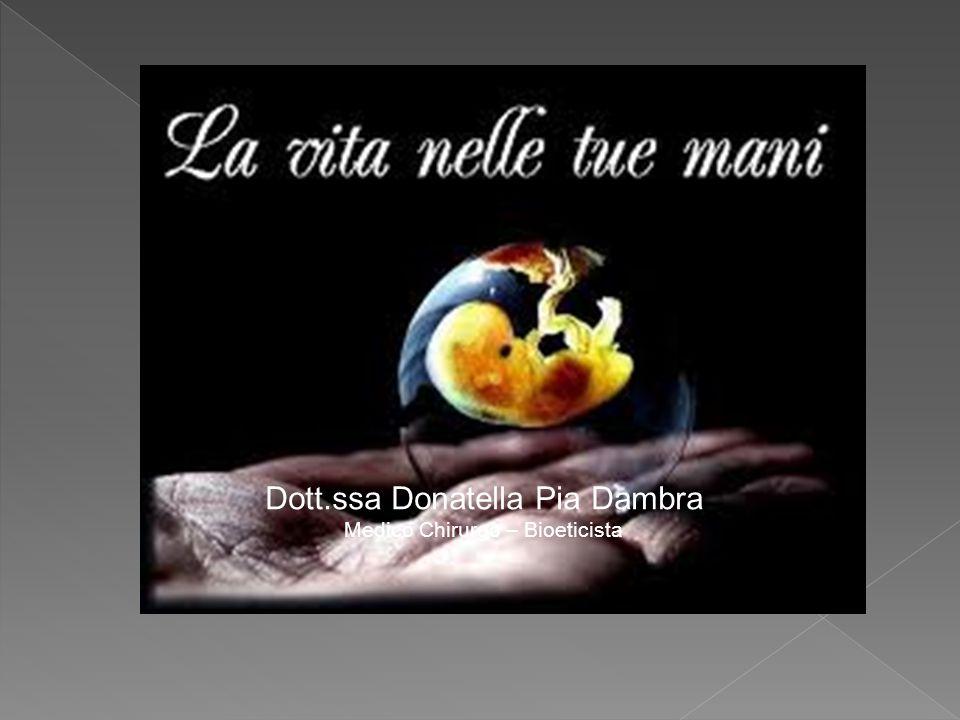 Dott.ssa Donatella Pia Dambra
