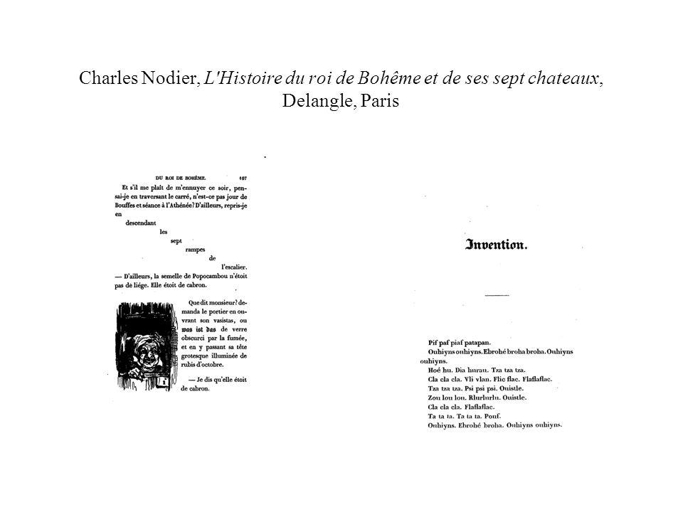 Charles Nodier, L Histoire du roi de Bohême et de ses sept chateaux, Delangle, Paris