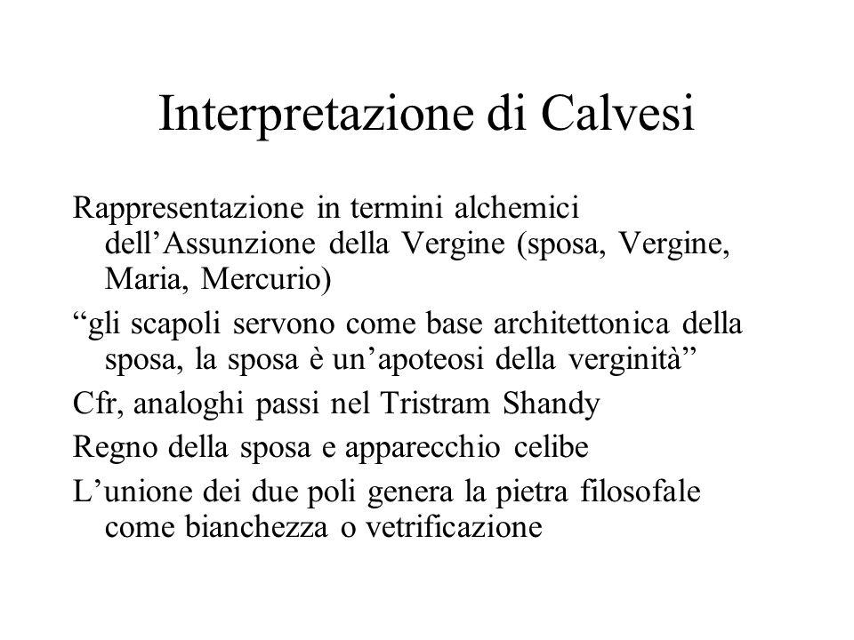 Interpretazione di Calvesi