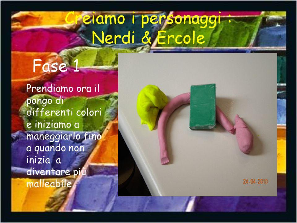 Creiamo i personaggi : Nerdi & Ercole