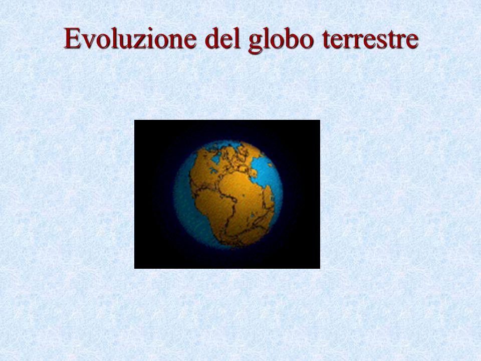 Evoluzione del globo terrestre