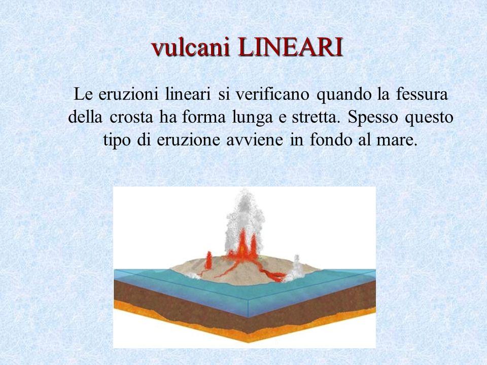 vulcani LINEARI